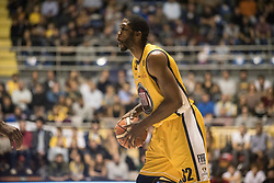 November 12, 2017 - Turin, Piemonte/Torino, Italy - Trevor Mbakwe(Fiat Torino Auxilium) during the Basketball match, Serie A: Fiat Torino Auxilium vs Vanoli Cremona. Torino wins 88-80 at Pala Ruffini in Turin 12th november 2017 Photo by Alberto Gandolfo/Pacific Press) (Credit Image: © Alberto Gandolfo/Pacific Press via ZUMA Wire)