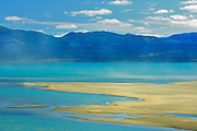 Kluane Lake and the Ruby Ranges<br /> Kluane National Park<br /> Yukon<br /> Canada