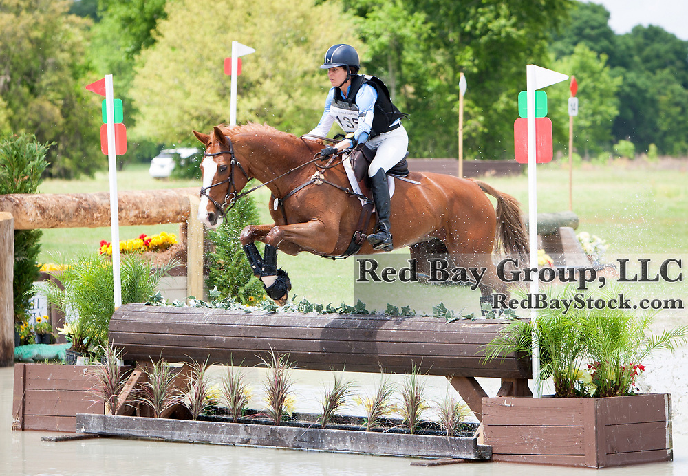 Julie Richards (USA) and Beaulieu's Cayenne at the 2014 Ocala Horse Properties International 3-Day Event in Ocala, Florida.