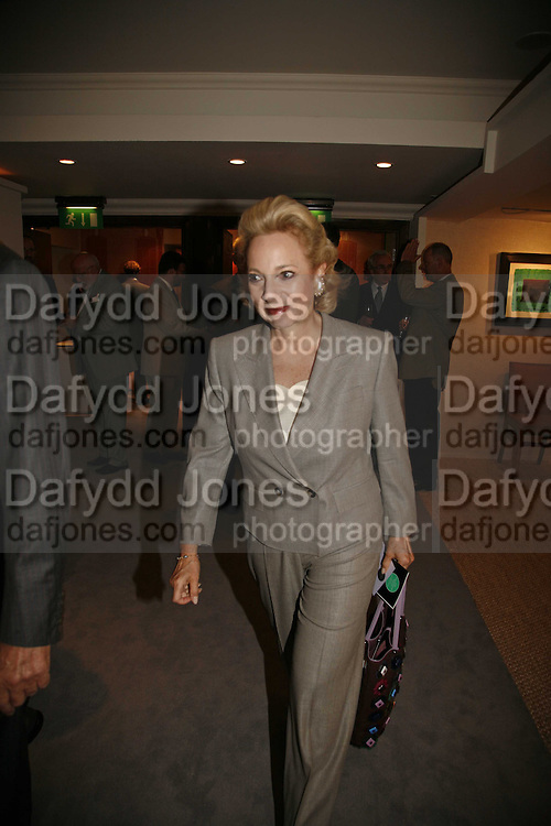 Mrs. George Livanos, The opening  day of the Grosvenor House Art and Antiques Fair.  Grosvenor House. Park Lane. London. 14 June 2006. ONE TIME USE ONLY - DO NOT ARCHIVE  © Copyright Photograph by Dafydd Jones 66 Stockwell Park Rd. London SW9 0DA Tel 020 7733 0108 www.dafjones.com