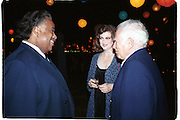 Al Sharpton, Norris and Norman Mailer. Talk magazine launch. New York. 2 September 1999.<br />© Copyright Photograph by Dafydd Jones<br />66 Stockwell Park Rd. London SW9 0DA<br />Tel 0171 733 0108