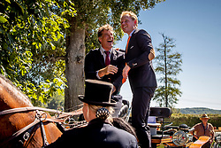 DodderWuesthof Mark, Cgardon Bram, NED<br /> Prizegiving FEI rider of the year<br /> Driving European Championship <br /> Donaueschingen 2019<br /> © Hippo Foto - Dirk Caremans<br /> Wuesthof Mark, Cgardon Bram, NED