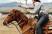 Roping, Team Roping, Tie-Down Roping, Calf Roping, Rodeo, Salmon, Idaho