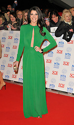 Natalie Anderson Arrives At The annual National Television Awards 2013, O2 Arena, Greenwich, London, UK, January 23, 2013. Photo by i-Images.