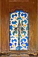 Doorway in Sri Lanka, Blue & Yellow