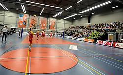 12-02-2011 VOLLEYBAL: AB GRONINGEN/LYCURGUS - DRAISMA DYNAMO: GRONINGEN<br /> In een bomvol Alfa-college Sportcentrum werd Dynamo met 3-2 (25-27, 23-25, 25-19, 25-23 en 16-14) verslagen door Lycurgus / Sporthal Alfa College<br /> ©2011-WWW.FOTOHOOGENDOORN.NL