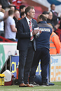 Steve Davis Manager of Crewe Alexandra  during the Sky Bet League 1 match between Sheffield Utd and Crewe Alexandra at Bramall Lane, Sheffield, England on 25 March 2016. Photo by Ian Lyall.