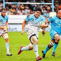 Filimo TAOFIFENUA of Bayonne during the Top 14 match between Bayonne and Montpellier on October 12, 2019 in Bayonne, France. (Photo by JF Sanchez/Icon Sport) - Filimo TAOFIFENUA - Stade Jean Dauger - Bayonne (France)