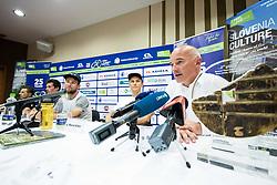 Bogdan Fink, race director during press conference of 25th Tour de Slovenie 2018 cycling race, on June 12, 2018 in Hotel Livada, Moravske Toplice, Slovenia. Photo by Vid Ponikvar / Sportida