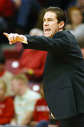 03 January 2009: Redbirds coach Tim Jankovich directs his players. The Illinois State University Redbirds extended their record to 14-0 with a 86-64 win over the Creighton Bluejays on Doug Collins Court inside Redbird Arena on the campus of Illinois State University in Normal Illinois