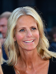 Ulrika Jonsson arriving for the world premiere of their film One Direction: This Is Us,<br /> London, United Kingdom.<br /> Tuesday, 20th August 2013.  Picture by Nils Jorgensen / i-Images