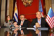 Firma de convenio de Seguridad Social ROU-EEUU