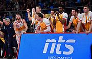 Carpegna Prosciutto Basket Pesaro<br /> Carpegna Prosciutto Basket Pesaro - S.Bernardo-Cinelandia Cantù<br /> Campionato serie A 2019/2020 <br /> Pesaro 26/12/2019<br /> Foto M.Ciaramicoli // CIAMILLO-CASTORIA