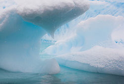 Ice berg in Plenau Bay, Antarctica