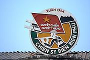 History of the battle at Dien Bien Phu Museum.