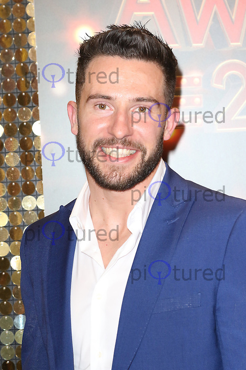 Michael Parr, The British Soap Awards, Hackney Town Hall, London UK, 28 May 2016, Photo by Richard Goldschmidt