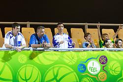 04.09.2013, Arena Bonifka, Koper, SLO, Eurobasket EM 2013, Schweden vs Griechenland, im Bild Vassilis Spanoulis #7 of Greece // during Eurobasket EM 2013 match between Sweden and Greece at Arena Bonifka in Koper, Slowenia on 2013/09/04. EXPA Pictures © 2013, PhotoCredit: EXPA/ Sportida/ Matic Klansek Velej<br /> <br /> ***** ATTENTION - OUT OF SLO *****