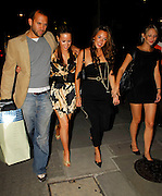 10.08.2006. LONDON<br /> <br /> CELEBRITIES PARTY AT AURA NIGHT CLUB TO CELEBRATE THE BIRTHDAY OF ROXANNE MCKEE IN MAYFAIR, LONDON, UK.<br /> <br /> BYLINE: EDBIMAGEARCHIVE.CO.UK<br /> <br /> *THIS IMAGE IS STRICTLY FOR UK NEWSPAPERS AND MAGAZINES ONLY*<br /> *FOR WORLD WIDE SALES AND WEB USE PLEASE CONTACT EDBIMAGEARCHIVE - 0208 954 5968*