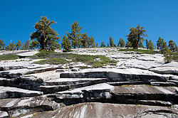 Granite scenic, rock slabs, high country, Yosemite National Park, California, USA.  Photo copyright Lee Foster.  Photo # california120857
