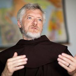 20200807: SLO, People - Portrait of p. Miran Spelic of Franciscan community