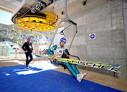 20.03.2014, Planica, Ratece, SLO, FIS Weltcup Ski Sprung, Planica, Qualifikation, im Bild Maciej Kot // Maciej Kot during the qualifikation of the mens individual large Hill of the FIS Ski jumping Worldcup Cup finals at Planica in Ratece, Slovenia on 2014/03/20. EXPA Pictures © 2014, PhotoCredit: EXPA/ Newspix/ Irek Dorozanski<br /> <br /> *****ATTENTION - for AUT, SLO, CRO, SRB, BIH, MAZ, TUR, SUI, SWE only*****