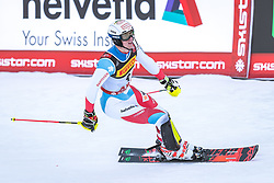 17.02.2019, Aare, SWE, FIS Weltmeisterschaften Ski Alpin, Slalom, Herren, 2. Lauf, im Bild Ramon Zenhaeusern (SUI) // Ramon Zenhaeusern of Switzerland reacts after his 2nd run of men's Slalom of FIS Ski World Championships 2019. Aare, Sweden on 2019/02/17. EXPA Pictures © 2019, PhotoCredit: EXPA/ Dominik Angerer