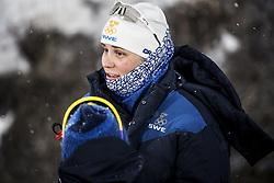 February 13, 2018 - Stockholm, Sweden - OS 2018 i Pyeongchang. Sprint, damer. Ida Ingmarsdotter, längdskidÃ¥kare Sverige, tävling action landslaget ledsen (Credit Image: © Orre Pontus/Aftonbladet/IBL via ZUMA Wire)