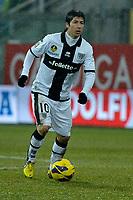 Jaimie Valdes Parma Juventus.Calcio Parma vs Juventus.Campionato Serie A - Parma 13/1/2013 Stadio Ennio Tardini.Football Calcio 2012/2013.Foto Federico Tardito Insidefoto.