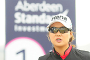 Pei-Yun Chien during the Aberdeen Standard Investments Ladies Scottish Open 2018 at Gullane Golf Club, Gullane, Scotland on 28 July 2018. Picture by Kevin Murray.