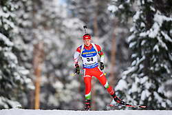March 9, 2019 - –Stersund, Sweden - 190309 David Panyik of Hungary competes in the Men's 10 KM sprint during the IBU World Championships Biathlon on March 9, 2019 in Östersund..Photo: Petter Arvidson / BILDBYRÃ…N / kod PA / 92252 (Credit Image: © Petter Arvidson/Bildbyran via ZUMA Press)