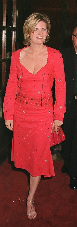 MRS STEN BERTELSEN, she was Susannah<br />  Constantine, at a party in London on <br /> 15th May 2000.OEB 44 wo