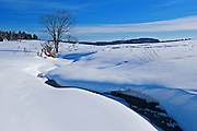 winter scenic<br /> Near Calumet<br /> Quebec<br /> Canada