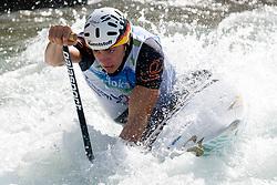 Sideris Tasiadis of Germany in the Men's Canoe C-1 at ICF Canoe Slalom World Championships - Sloka 2010 on September 12, 2010 in Tacen, Ljubljana, Slovenia (Photo by Matic Klansek Velej / Sportida)