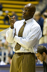 December 28, 2009; Berkeley, CA, USA;  Furman Paladins head coach Jeff Jackson during the second half against the UC Santa Barbara Gauchos at the Haas Pavilion.  UC Santa Barbara defeated Furman 72-60.