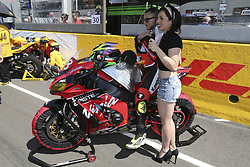 April 21, 2018 - Le Mans, SARTHE (72, FRANCE - 18 TEAM 18 SAPEURS POMPIERS (FRA) KAWASAKI ZX 10R SUPERSTOCK BUISSON DYLAN (FRA) ALARCOS ANTONIO (ESP) FERRER ENRIQUE  (Credit Image: © Panoramic via ZUMA Press)