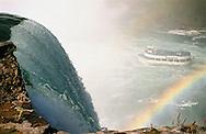 Multicolored Arc under Niagara Falls.