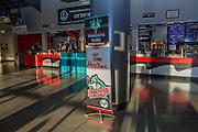 KELOWNA, CANADA - SEPTEMBER 28:  Lobby at the Kelowna Rockets game on September 28, 2016 at Prospera Place in Kelowna, British Columbia, Canada.  (Photo By Cindy Rogers/Nyasa Photography,  *** Local Caption ***
