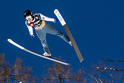 Casey Larson (USA) during the Qualification round of the Ski Flying Hill Individual Competition at Day 1 of FIS Ski Jumping World Cup Final 2019, on March 21, 2019 in Planica, Slovenia. Photo by Matic Ritonja / Sportida