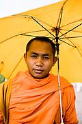 Monk. Phnom Penh, Cambodia