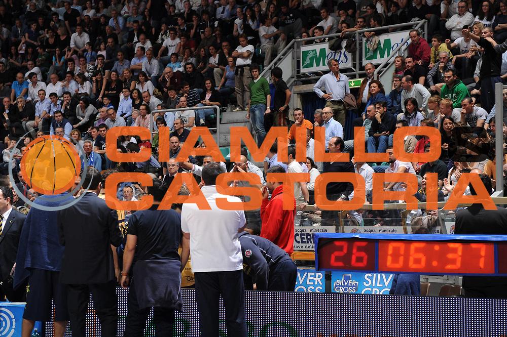 DESCRIZIONE : Bologna Lega A 2008-09 GMAC Fortitudo Bologna Premiata Montegranaro<br /> GIOCATORE : Tifosi Contestazione<br /> SQUADRA : Premiata Montegranaro<br /> EVENTO : Campionato Lega A 2008-2009<br /> GARA : GMAC Fortitudo Bologna Premiata Montegranaro<br /> DATA : 15/04/2009<br /> CATEGORIA : <br /> SPORT : Pallacanestro<br /> AUTORE : Agenzia Ciamillo-Castoria/M.Marchi