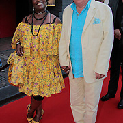 NLD/Utrecht/20110927 - 31 ste NFF-Uitreiking Lezen en Schrijven Film Awards door Prinses Laurentien, Gerda Havertong en partner Roelof Lenten