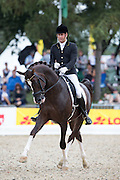 Marcus Hermes - Flynn PCH<br /> FEI World Breeding Dressage Championships for Young Horses 2012<br /> © DigiShots