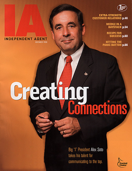 Cover of Independent Agent,a insurance industry trade publication.