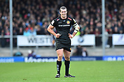 Ian Whitten of Exeter Chiefs during the Aviva Premiership match between Exeter Chiefs and Harlequins at Sandy Park, Exeter, United Kingdom on 19 November 2017. Photo by Graham Hunt.