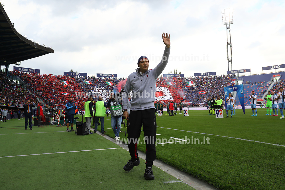 "Foto Filippo Rubin<br /> 06/10/2019 Bologna (Italia)<br /> Sport Calcio<br /> Bologna - Lazio - Campionato di calcio Serie A 2019/2020 - Stadio ""Renato Dall'Ara""<br /> Nella foto: SINISA MIHAJLOVIC (ALLENATORE BOLOGNA)<br /> <br /> Photo by Filippo Rubin<br /> October 06, 2019 Ferrara (Italy)<br /> Sport Soccer<br /> Bologna vs Lazio - Italian Football Championship League A 2019/2020 - ""Dall'Ara"" Stadium <br /> In the pic: SINISA MIHAJLOVIC (BOLOGNA FC COACH)"