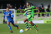 Forest Green Rovers Ethan Pinnock(16) runs forward during the Vanarama National League match between Forest Green Rovers and Macclesfield Town at the New Lawn, Forest Green, United Kingdom on 4 March 2017. Photo by Shane Healey.