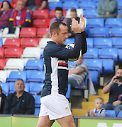Charlie Adam applauds the Dundee fans during the match - Crystal Palace v Dundee - Julian Speroni testimonial match at Selhurst Park<br /> <br />  - © David Young - www.davidyoungphoto.co.uk - email: davidyoungphoto@gmail.com