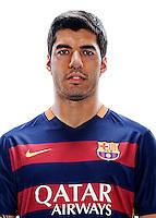 Spain - Liga BBVA 2015-2016 / <br /> ( Fc Barcelona ) - <br /> Luis Suarez
