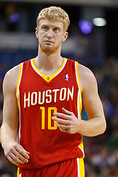 March 7, 2011; Sacramento, CA, USA;  Houston Rockets small forward Chase Budinger (10) before a free throw against the Sacramento Kings during the second quarter at the Power Balance Pavilion. Houston defeated Sacramento 123-101.