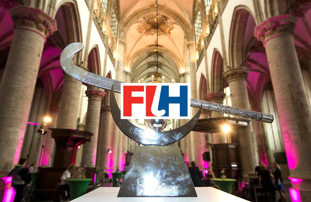 BREDA - THE TROPHY.  officiele opening van de Rabobank Champions Trophy Hockey , in de Nieuwe Kerk van Breda.   COPYRIGHT  KOEN SUYK